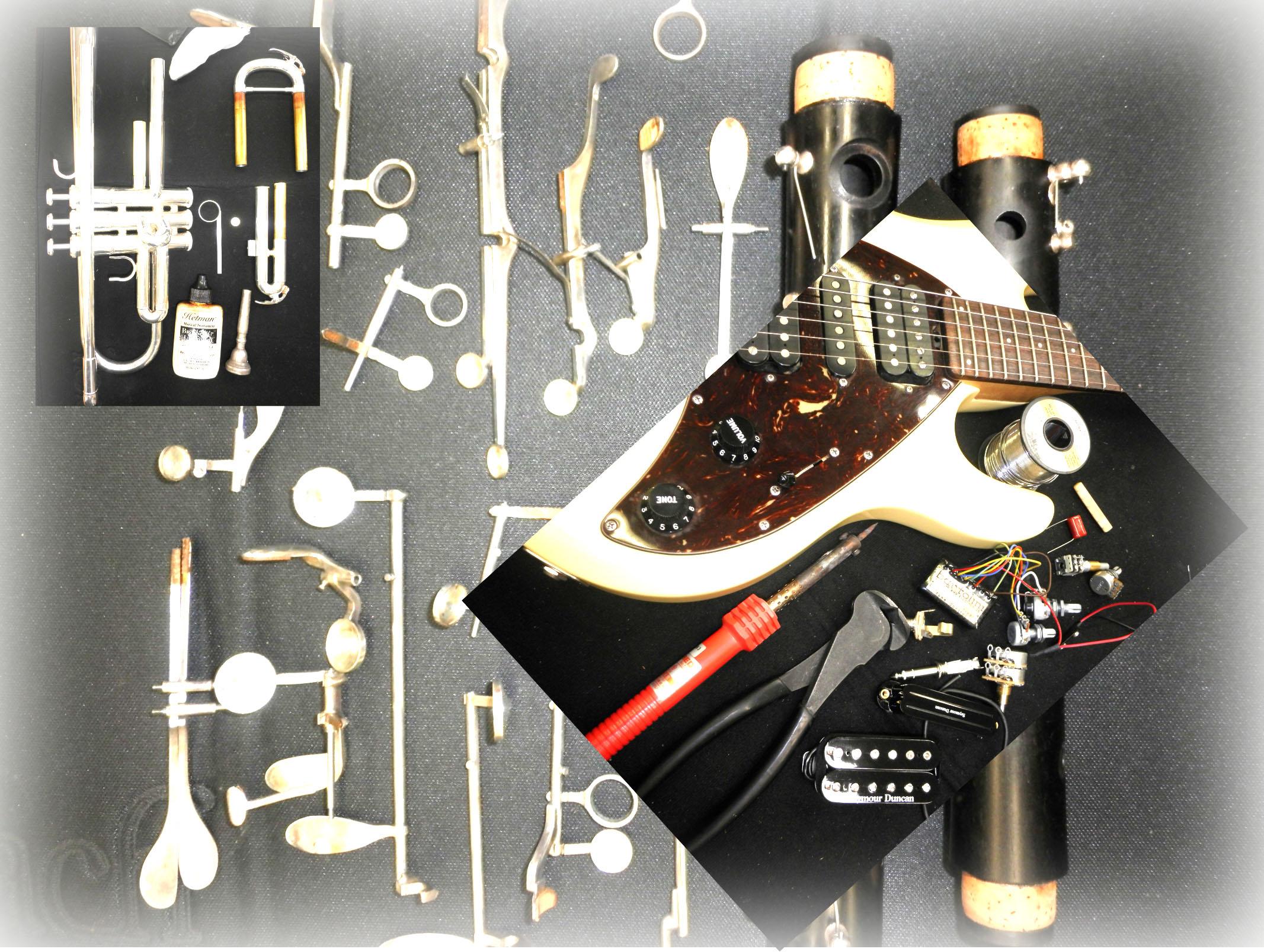 松戸店楽器リペア